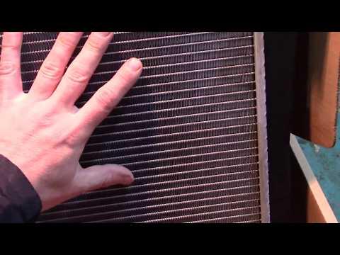 Замена радиатора охлаждения двигателя на Ford Fusion