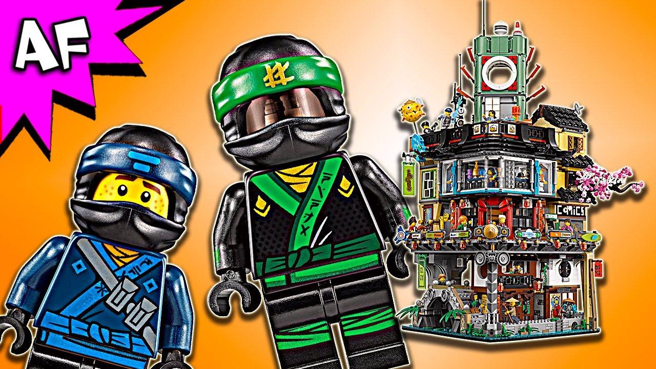 Lego Ninjago Movie: NINJAGO CITY 70620 Sneak Peek - YouTube