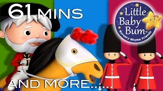 Grand Old Duke Of York | And More Nursery Rhymes | From LittleBabyBum