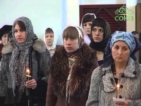 Чин Пассии в Казанском кафедральном соборе Читы