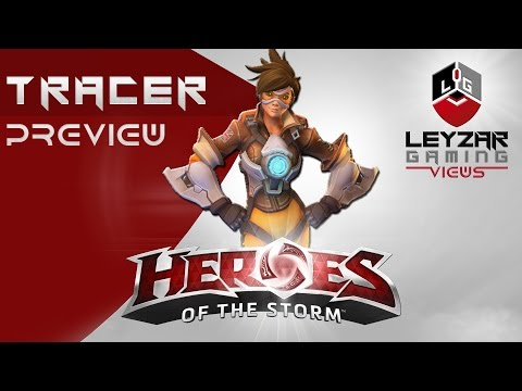 Heroes Of The Storm (HotS News) - Tracer Abilities & LvL 10 Talents (Slideshow)