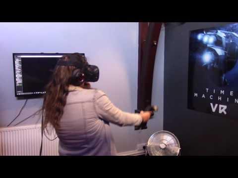John Leggott Computing/Public Services trip to a VR studio