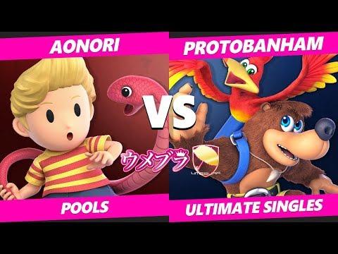Umebura SP6 SSBU - aonori (Lucas) Vs. ProtoBanham (Lucina, Banjo) Smash Ultimate Tournament Pools