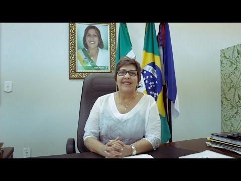 MENSAGEM DA PREFEITA CÉLIA ROCHA ARAPIRACA 92 ANOS