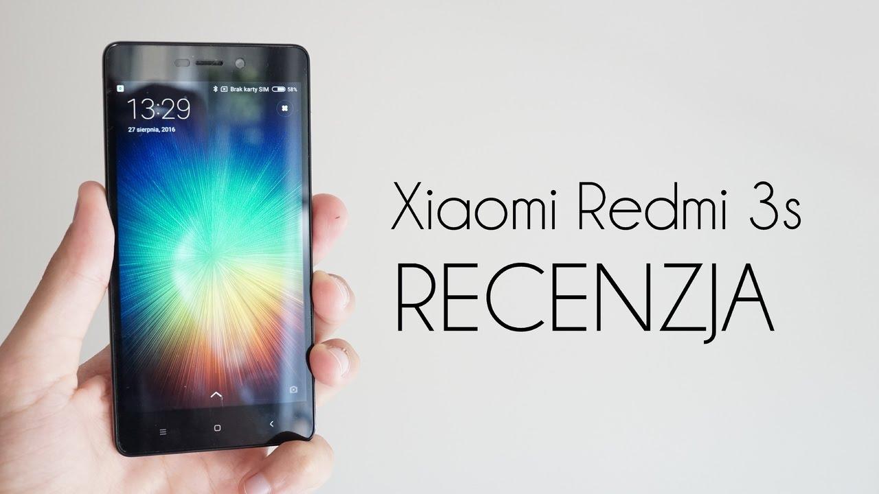 Xiaomi       Redmi       3s     test  recenzja  47  PL   YouTube