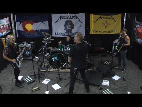 Metallica Of Wolf and Man Tuning Room VANCOUVER AUG 14 2017