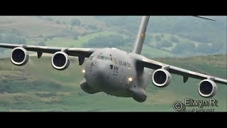 Low-level Flying Mach-Loop with some rare aircraft!