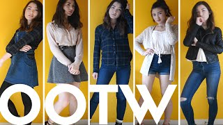 High School Outfits of the Week 2016 | Winter to Spring Transition ● bestdressed