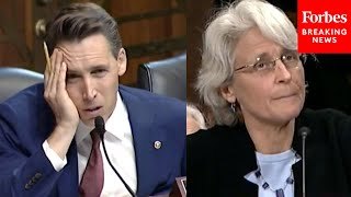 'Frankly, I Think That's Crazy': Josh Hawley Shocked By Decision Of Biden Judicial Nominee