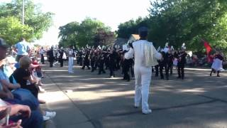 Worthington MN Marching Band 06162012