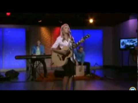 Let's Be Friends- Emily Osment - Acoustic Version - Toronto Breakfast Television