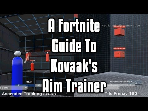 a fortnite guide to kovaak s aim trainer the fastest way to improve your aim - fortnite ps4 tips reddit