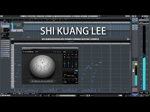 """Ample Percussion Cloudrum """"The Moon"""" Music by Shi Kuang Lee"""