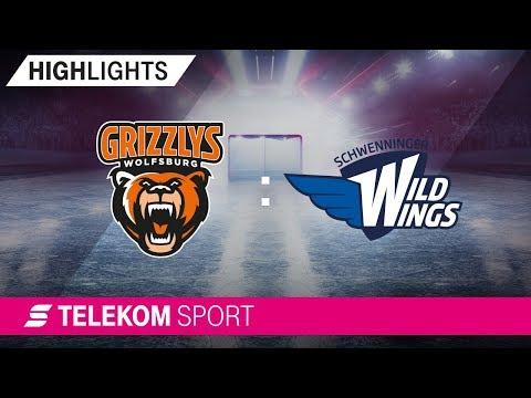 Grizzlys Wolfsburg - Schwenninger Wild Wings | 20. Spieltag, 18/19 | Telekom Sport