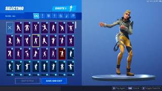 "*NEW* CUTE ""VEGA"" SKIN SHOWCASED WITH DANCE EMOTES ❤️ Fortnite Season 9"
