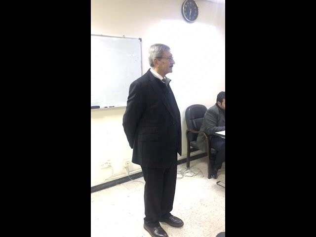 محاضرة دكتور كمال البصري في ورشة وزارة الصناعة