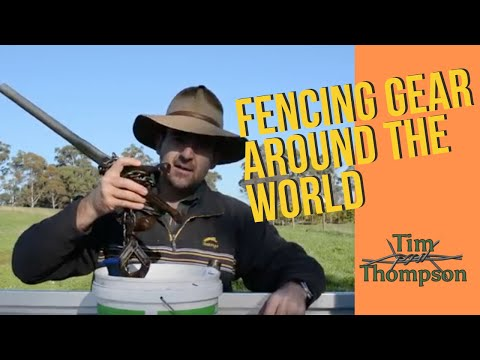Fencing Gear In Australia, Ireland And The United States. Similarities And Differences.