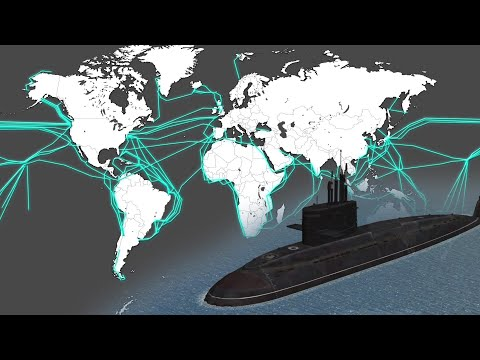 What would happen if Russia attacked deep sea data cables?