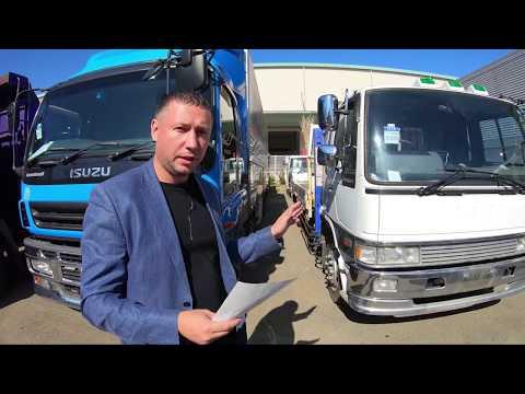 Аукционы грузовиков и спецтехники изнутри. В идеале и дёшево - бывает ли такое? Мы в Японии.