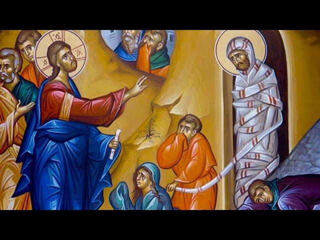Matins & Divine Liturgy for Lazarus Saturday - April 4, 2020 - Online ONLY