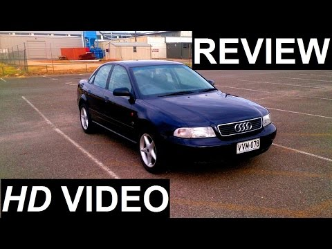 1996 AUDI A4 1.8 Turbo Review