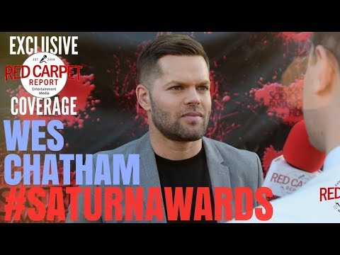 Wes Chatham TheExpanse ed at the 44th Annual Saturn Awards Red Carpet SaturnAwards