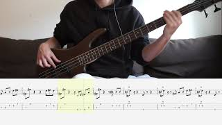 Bee Gees - Stayin Alive   Bass Cover + (Playalong-)Tab