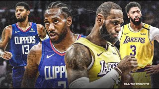 Los Angeles Lakers Vs Los Angeles Clippers Live Breakdown Commentary