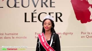 Miss Cameroun Canada 2017 soutient #UrgenceCameroun