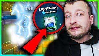 LIGHTNING MAX LEVEL! CLASH ROYALE POLSKA