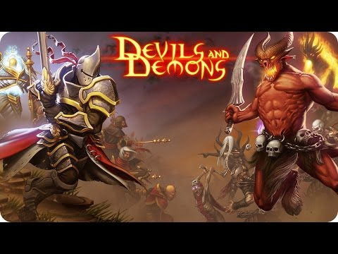 Devils And Demons - iOS & Android Gameplay