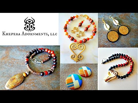 Khepera Adornments, LLC: Culturally Relevant Jewelry, African Jewelry, Online Shopping, Fashion