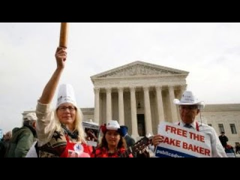 Gay wedding cake case ruling could shift free expression