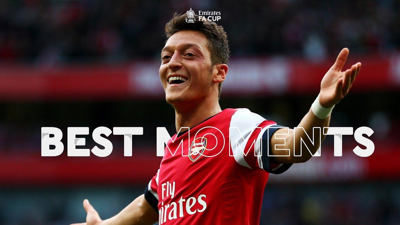Mesut Özil | Best Moments | Emirates FA Cup