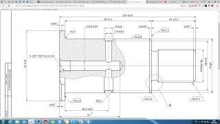 Solidworks. Урок 22.2 Чертёж от вида до тех требований по ЕСКД - создание чертежа