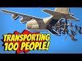 GTA 5 - Best way to TRANSPORT 100 PEOPLE?