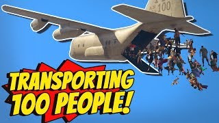 GTA 5 - Best way to TRANSPORT 100 PEOPLE?