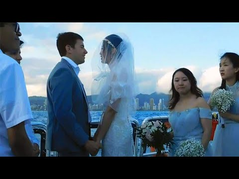 Kristina Kage - Who Is the Mystery Couple in These Wedding Pictures?