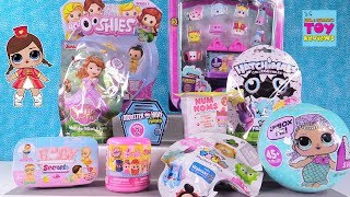 Disney Baby Secrets Princess Ooshies Num Noms LOL Surprise Toy Review | PSToyReviews