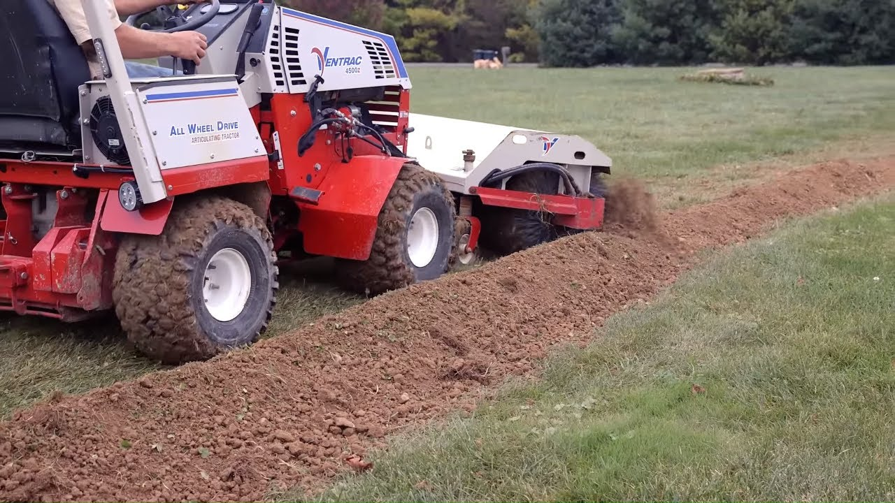 Digging Trenches with Minimal Lawn Damage