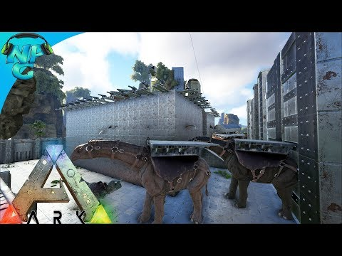 World War ARK - 2 Men 1 Base Raid Fail Till We Finish! The Fail Raid! S2E9 ARK Survival Evolved