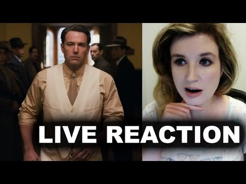 Live by Night Trailer Reaction streaming vf
