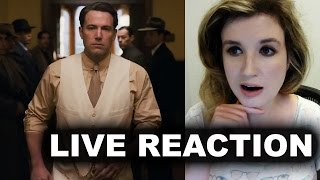 Live by Night Trailer Reaction
