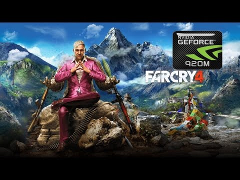 Far Cry 4 on GeForce GT 920M | Windows 10 |
