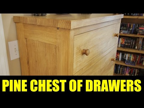 Making A Pine Chest Of Drawers - 211