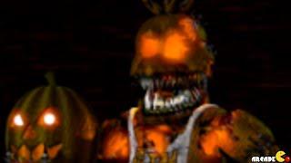 Five Nights at Freddy's 4 Halloween Edition New Nightmare Animatronics FNAF 4 Night 1!