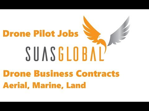 Drone Pilot Jobs, Drone Business Contracts, Aerial, Marine, Land