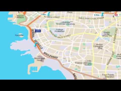 21.1KM MAP 2016 | BLOM BANK BEIRUT MARATHON