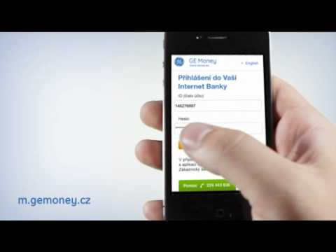 Unused animation for GE Money Bank's mobile banking promo