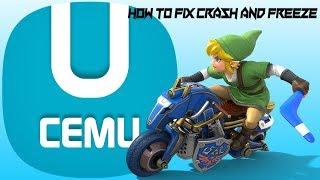 How to fix Mario Kart 8 from crashing and freezing CEMU 1.12.0